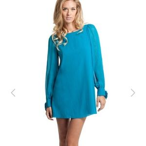 Guess by Marciano Rochelle mini dress turquoise xs
